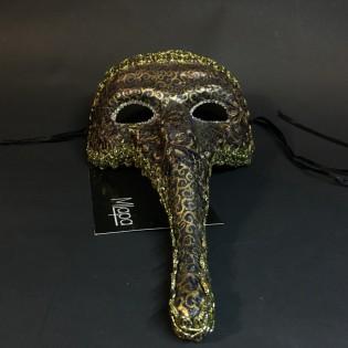 """Эксклюзивная карнавальная венецианская маска """"Острый нос"""" коллекции """"NOTTE"""""""
