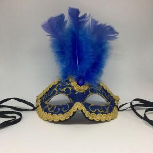 """Карнавальная маска """"Венецианская синяя"""""""