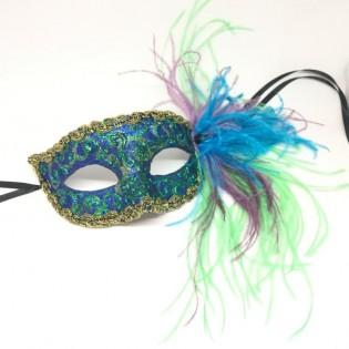 """Карнавальная маска """"Океанные глубины"""""""