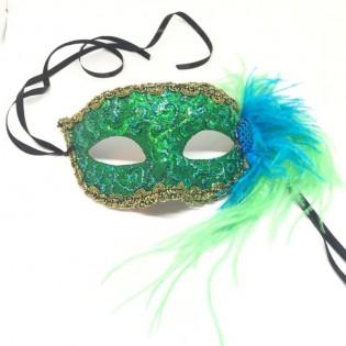 "Карнавальная маска ""Лазурные брызги"""