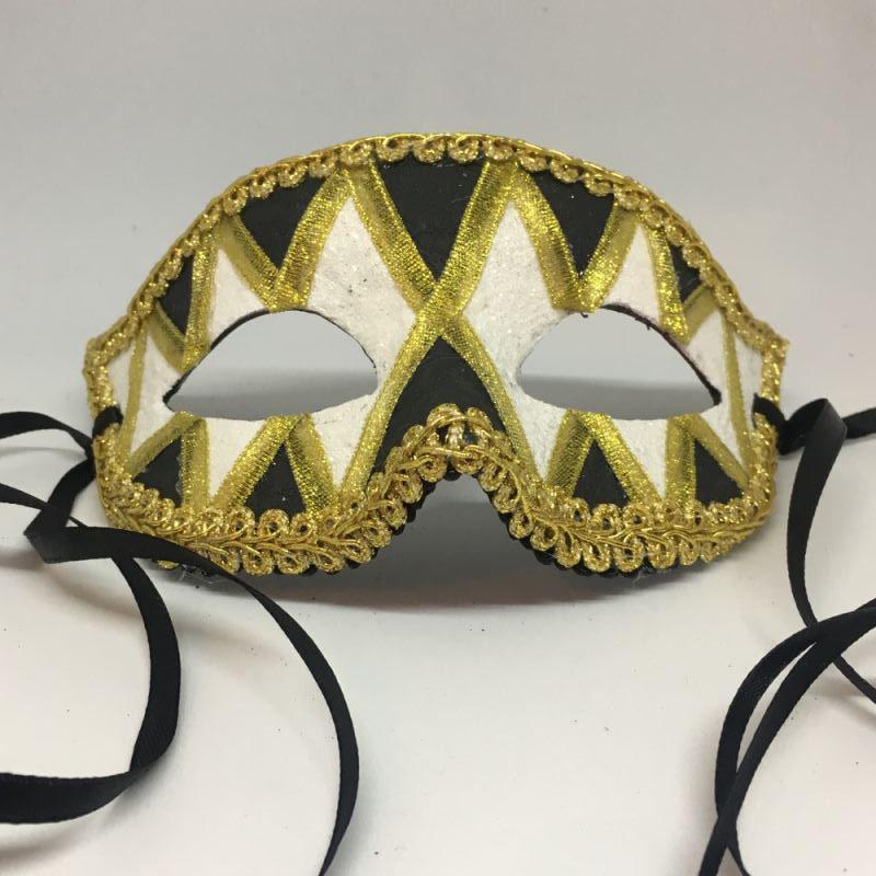 """Карнавальная маска """"Малые ромбы"""""""