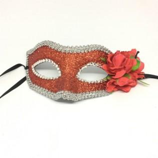 """Карнавальная маска """"Райские яблочки"""""""