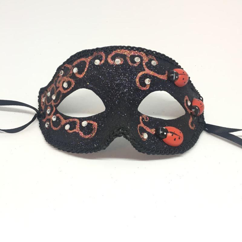 """Карнавальная маска """"Божья коровка"""""""