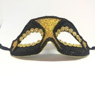 """Карнавальная маска """"Золотые глаза"""""""