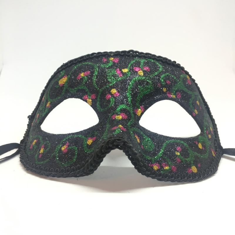 """Карнавальная маска """"Цветочный мотив"""""""