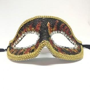 """Карнавальная маска """"Огненный взор"""""""